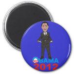 OBAMA 2012 T SHIRT FRIDGE MAGNETS
