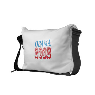 OBAMA 2012 T-SHIRT -.png Messenger Bags