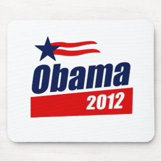 Obama 2012 tapetes de raton