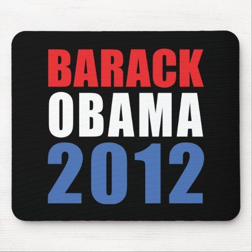 Obama 2012 tapetes de ratón