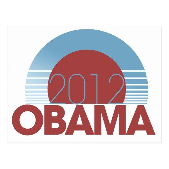 Obama 2012 tarjeta postal
