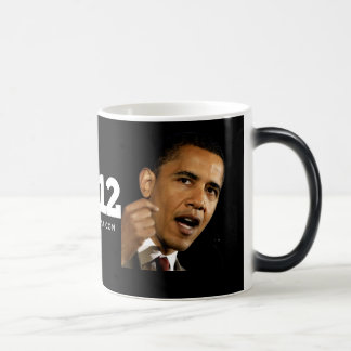 Obama 2012 tazas de café