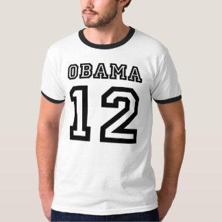 Obama 2012 Team Ringer T Shirt