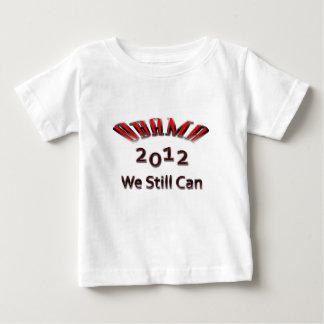 Obama 2012 todavía podemos rojo playeras