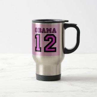 Obama 2012 travel mug