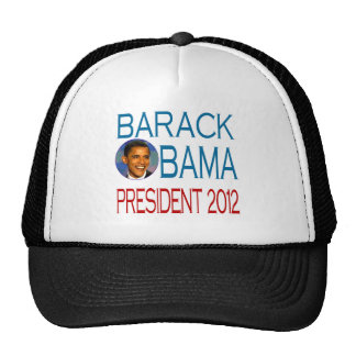 Obama 2012 trucker hat