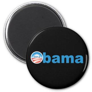 Obama 2012 v2 imán redondo 5 cm