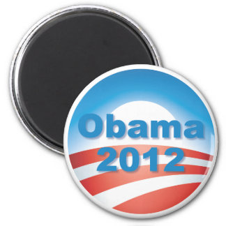 Obama 2012 v4 imán redondo 5 cm