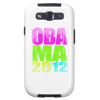 OBAMA 2012 Vintage.png DE NEÓN Samsung Galaxy S3 Cárcasas