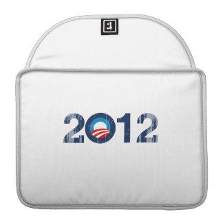 OBAMA 2012 - Vintage.png Sleeve For MacBook Pro