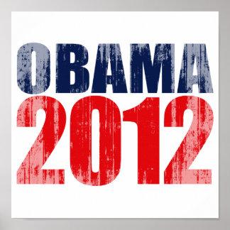 OBAMA 2012 Vintage png Posters
