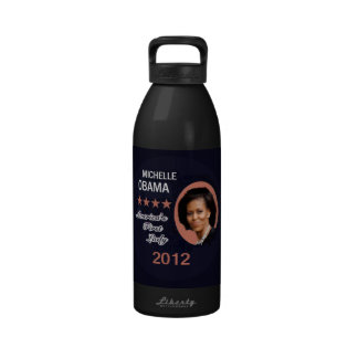 Obama 2012 reusable water bottle