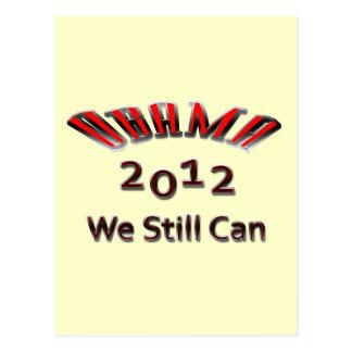 Obama 2012 We Still Can red Postcard
