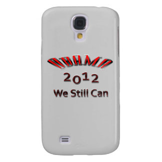 Obama 2012 We Still Can red Samsung Galaxy S4 Cover