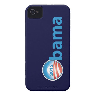 Obama 2012 With Obama Logo Case-Mate iPhone 4 Cases