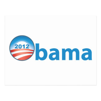 Obama 2012 With Obama Logo Postcard