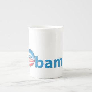Obama 2012 With Obama Logo Tea Cup