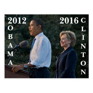 Obama 2012 y Clinton 2016