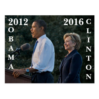 Obama 2012 y Clinton 2016 Postal