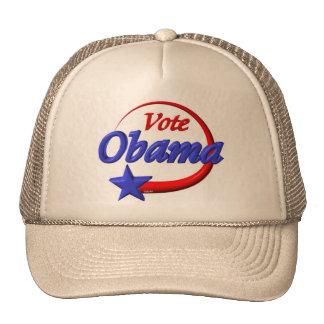 Obama 2012 y voto para nuestro futuro gorro