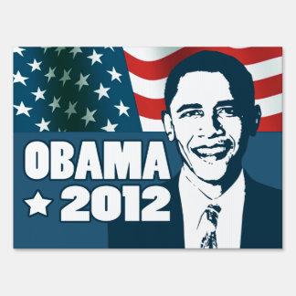 Obama 2012 sign