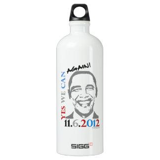 OBAMA 2012 Yes We Can AGAIN Custom SIGG Traveler 1.0L Water Bottle