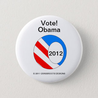 OBAMA 2012 Your Canvassing Button