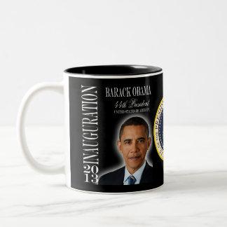 Obama 2013 Inauguration Commemorative Mug
