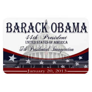 Obama 2013 Inauguration Memorabilia Magnet