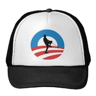 Obama 2014 viajes de la victoria gorro
