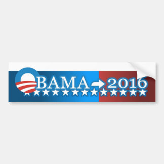 Obama -> 2016 Bumper Sticker