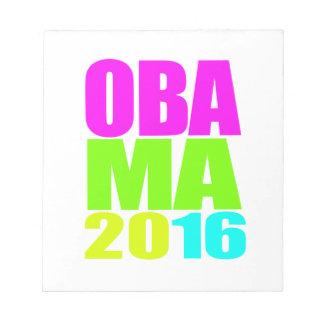 OBAMA 2016 NEON png Memo Note Pads