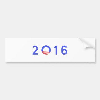 OBAMA 2016 PEGATINA PARA AUTO