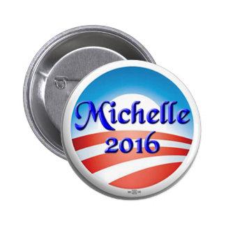 Obama 2016 pin redondo 5 cm