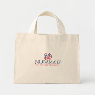 OBAMA%202012-Keep%20The%20Change Mini Tote Bag