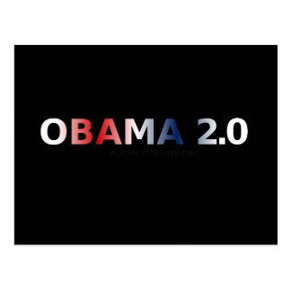 OBAMA 2.0 POSTCARD