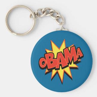 oBAMa-2 Basic Round Button Keychain