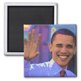 Obama 2 Inch Square Magnet