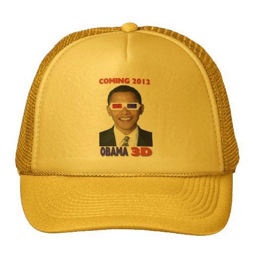 Obama 3D Gorros Bordados