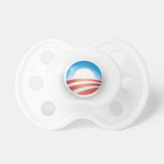 Obama 3D Logo Pacifier 2012