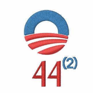 Obama 44 - 2 Term President Embroidered Polo Shirt