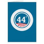 Obama - 44 ajustados felicitación