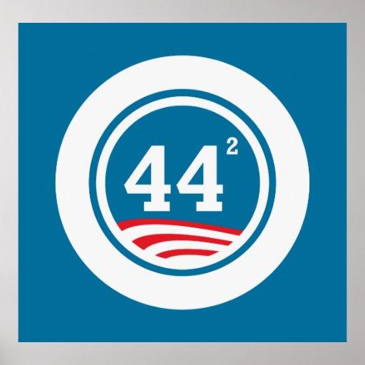 Obama - 44 ajustados posters