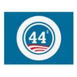 Obama - 44 ajustados postal