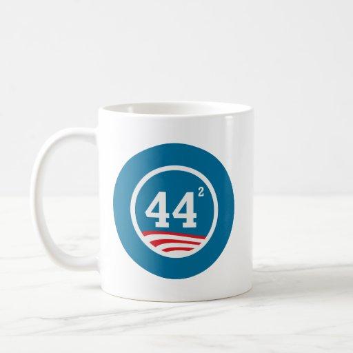 Obama - 44 ajustados taza de café
