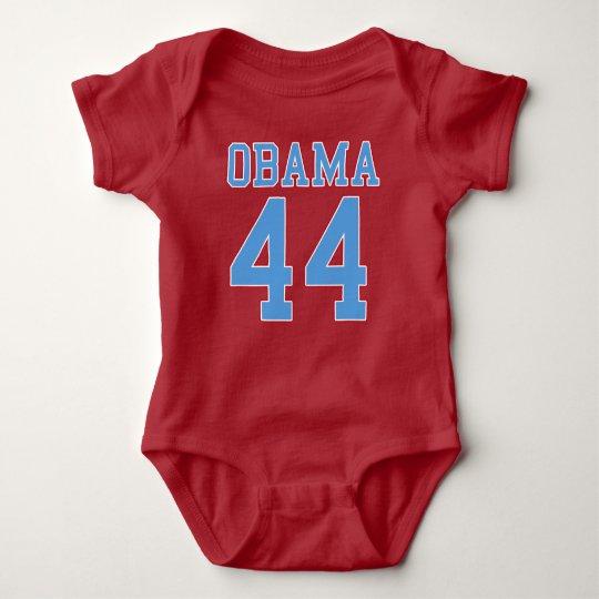 Obama - 44 baby bodysuit