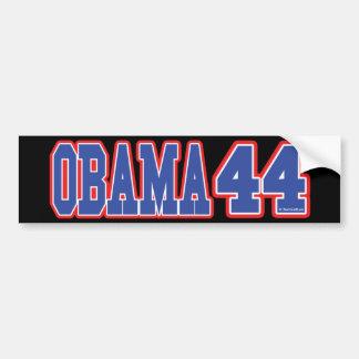 OBAMA 44 BUMPER STICKER