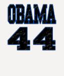 Obama 44 camiseta