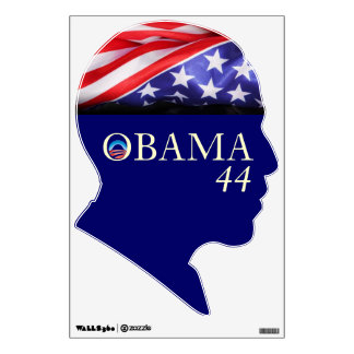 Obama 44 Campaign Wall Decal