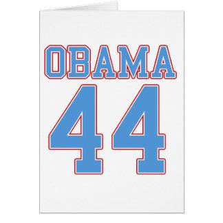Obama - 44 card